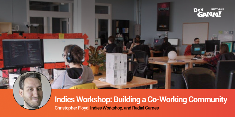 Talk by Christopher Floyd – Indies Workshop: Co-Working Community