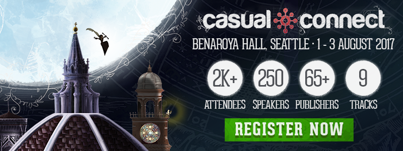 Don't miss Casual Connect USA 2017!