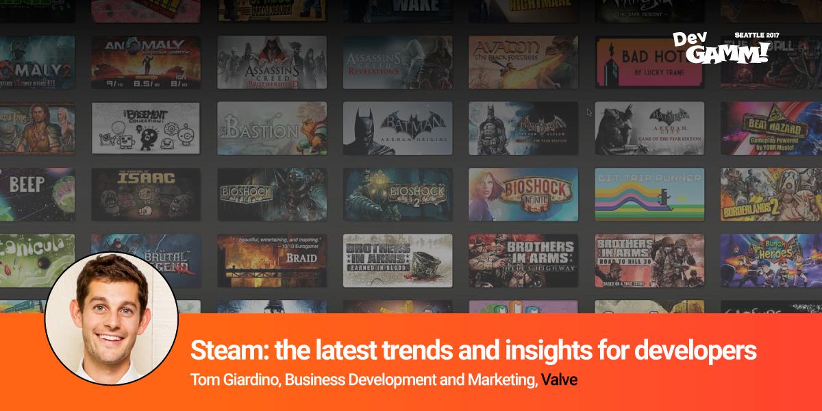 First Summit announcement-Valve talks about Steam