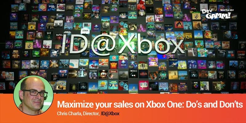 Chris Charla's talk: Maximize your sales on Xbox One
